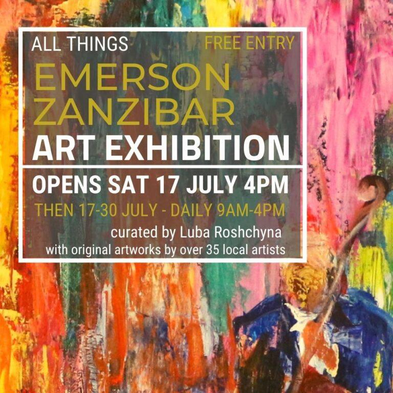 Emerson Zanzibar Art Exhibition